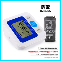 Intelligent Type Upper Arm Blood Pressure Monitor health care Portable Digital Blood Pressure Monitor RZ B26A