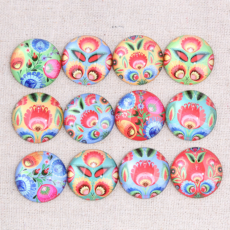 onwear mix flower pattern photo round glass cabochon 10mm 12mm 14mm 18mm 20mm 25mm diy flat back jewelry findings for earringsonwear mix flower pattern photo round glass cabochon 10mm 12mm 14mm 18mm 20mm 25mm diy flat back jewelry findings for earrings