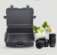 22.6 inch large size hard plastic tool case waterproof shockproof camera case with foam