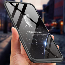 360 Degree Full Protection Case For Nokia X6 X 6 Cover shockproof case + glass film for