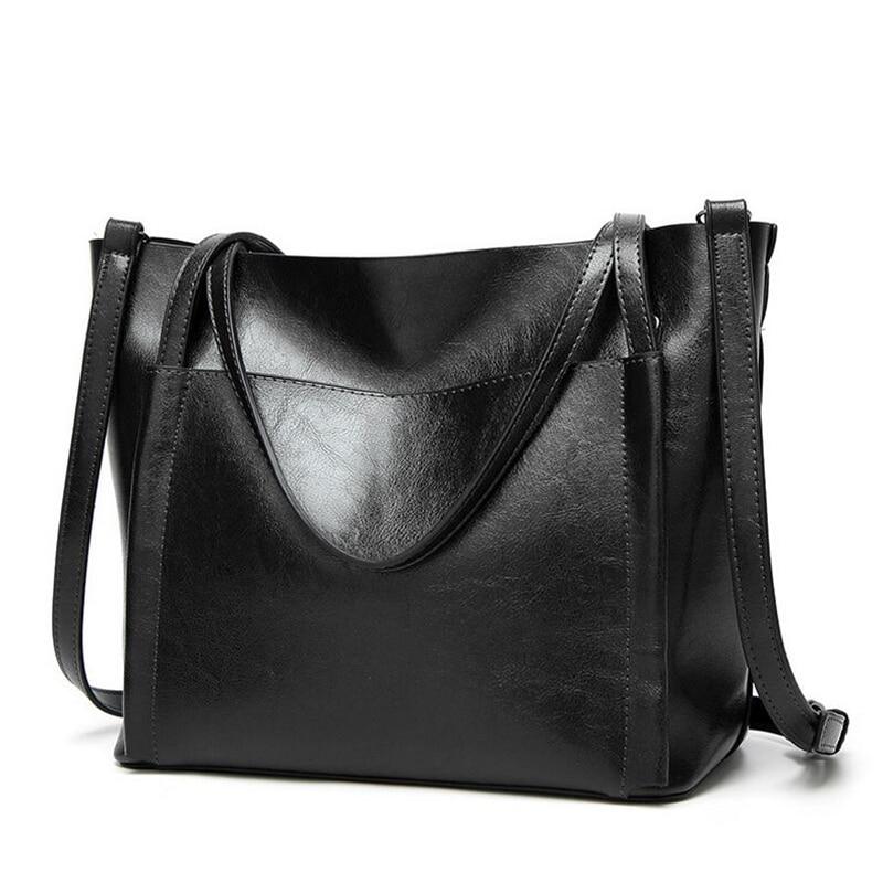BARHEE Mujeres Tote Bag Diseño de Marca de Moda Europea Vintage - Bolsos - foto 6