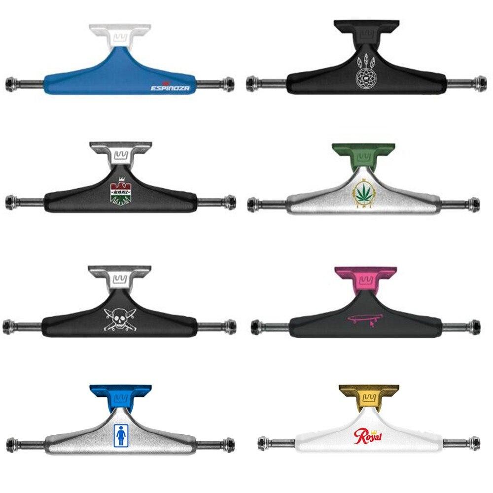 ROYAL de Planche À Roulettes Camions 5.25/5.0 en aluminium Camions Skate Pont Printemps Absorption Des Chocs Planche À Roulettes Accessoires