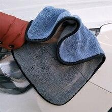 Толстое плюшевое полотенце из микрофибры для мытья автомобиля полотенце для чистки автомобиля уход за автомобилем размер 30*30 см detailingStrong впитывающая вода многоцветный