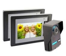 Yobang Security Video Door Phone Home Protection Doorbell Intercom Kit 2 Way Video Surveillance Security Cameras Doorphone