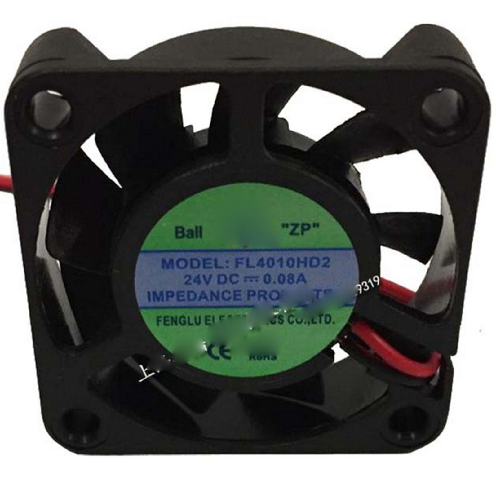24 В постоянного тока 40x40x10 мм осевой вентилятор радиатора 7000 об/мин двойной