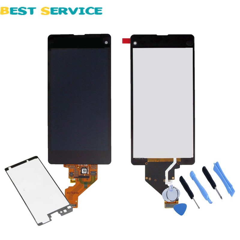 Black For Sony Xperia Z1 compact z1 mini M51w D5503 LCD Screen Display with Touch Screen