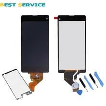 Schwarz für sony xperia z1 compact z1 mini m51w d5503 lcd Display mit Touchscreen Digitizer Assembly + Aufkleber + Werkzeuge