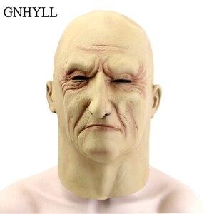 GNHYLL Realistic Latex Old Man