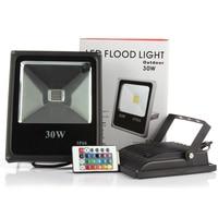 Spedizione Gratuita Outdoor LED Proiettore Impermeabile 30 W Bianco Caldo/Bianco/Bule/Greeen/Rosso Illuminazione Notturna