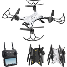 600S WIFI FPV Mini Drone Headless Foldable Arm RC Helicopter 20mins flying time Mode Remote Control Quadcopter 2.4G 4CH 4Axle недорого