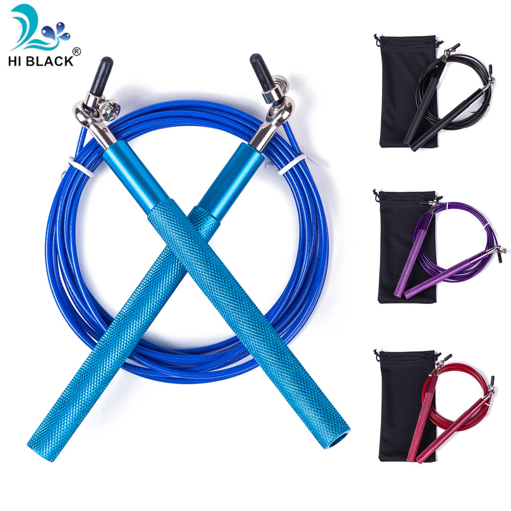10FT High Speed Skipping Rope Adjustable Ball Bearing Jump Rope Boxing Training