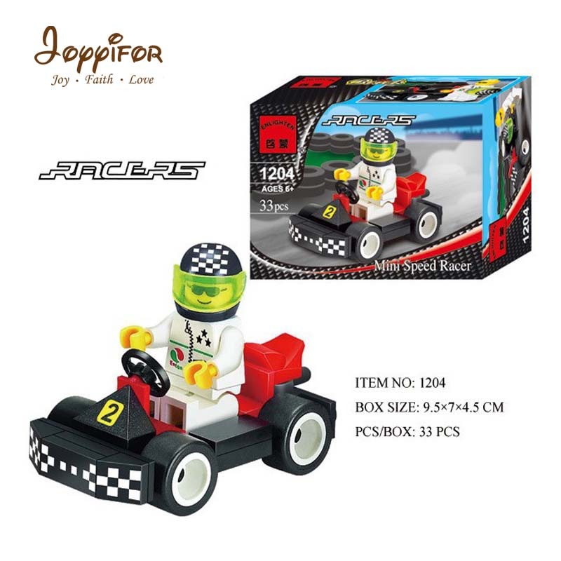 Joyyifor Technic City Go Kart Car Building Blocks Set Bricks Classic Model Kids Toys For Children Gift Compatible LegoINGlys