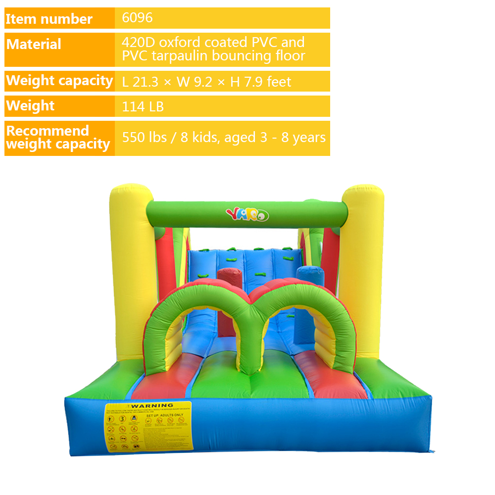 6096 inflatable bounce house obstacle course 1