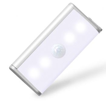 Batería Recargable Del Sensor De Movimiento Pir Inalámbrico Led