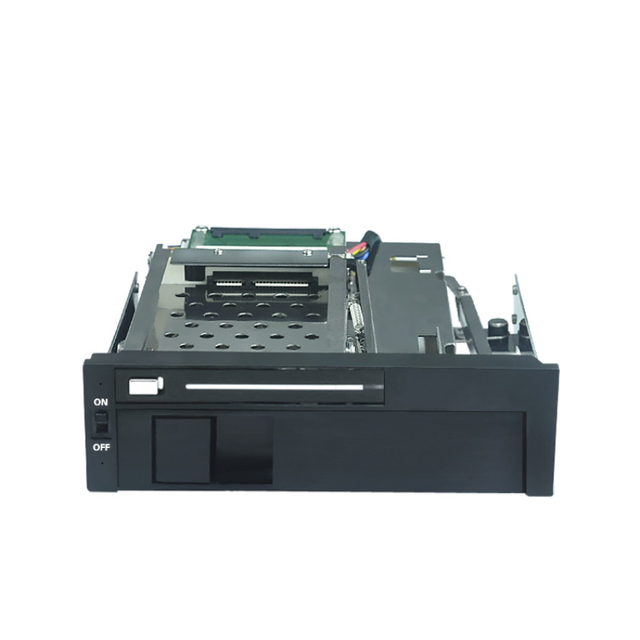 Optical Drive Bay  2.5+3.5in Internal SATA HDD Mobile Rack With No Ports