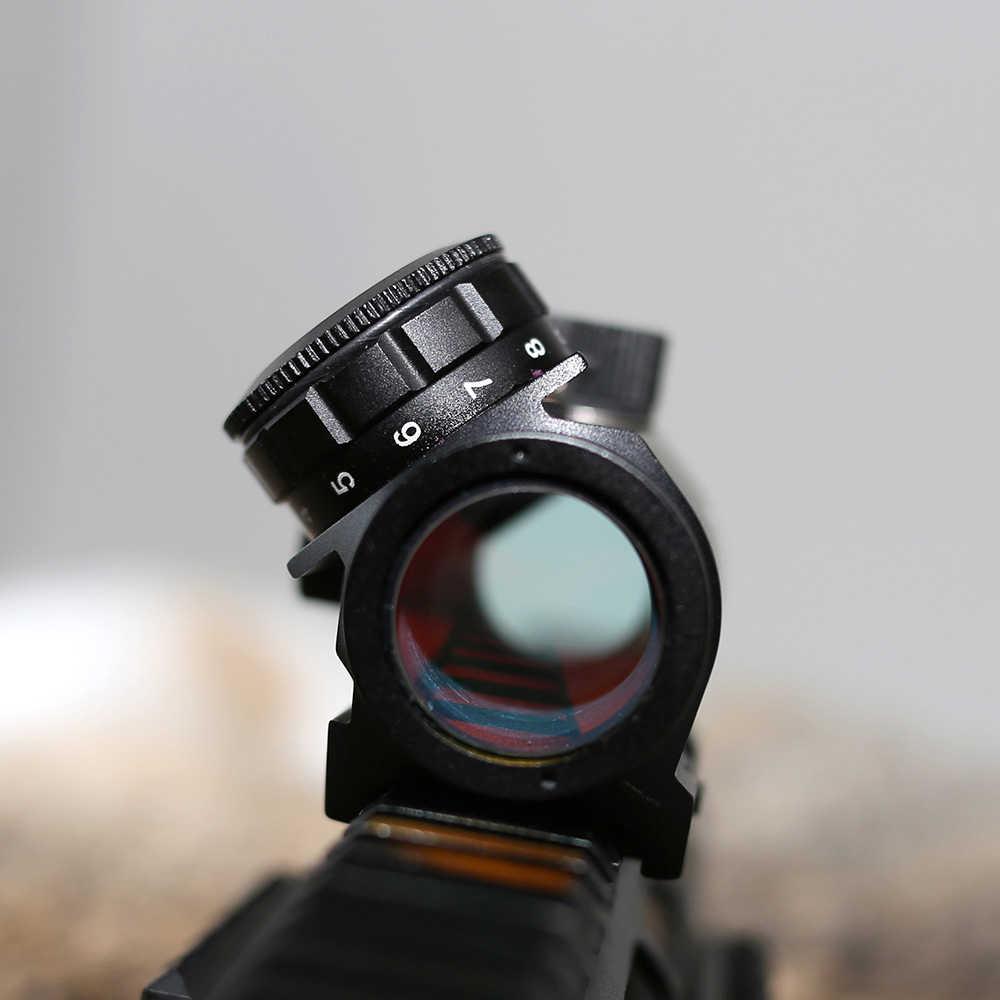 Armytac 1X Red Dot Sight Scope Airsoft Riflescope Dot Sight voor de jacht
