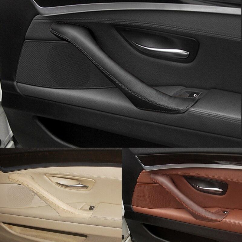 Для BMW 5 серии F10 F18 2011 2012 2013-2017 подкладке магия паста Micro кожа вправо/ручка левой двери Панель потяните крышку отделкой