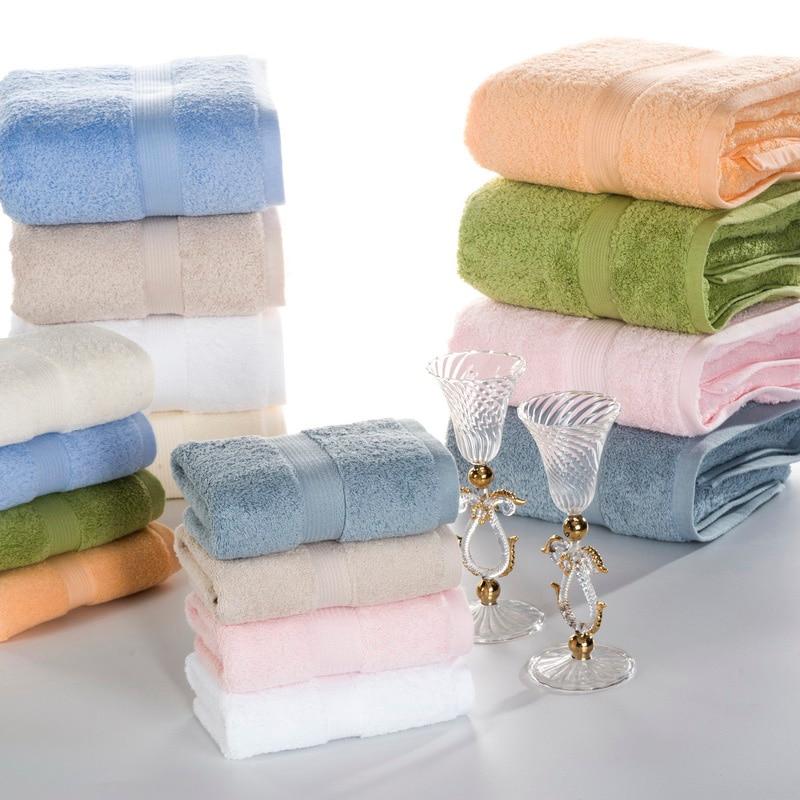 J pinno 3 piezas juntos en un paquete felpa de algodón suave cómodo blanco amarillo azul cian orange mano Baño size74 * 34 cm