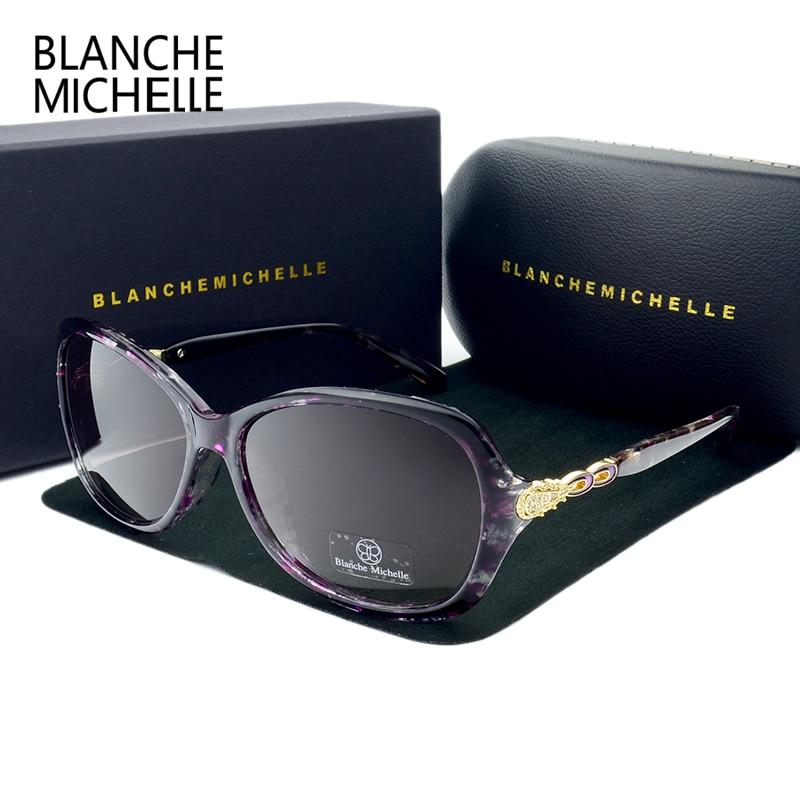 Blanche Michelle Luxury Butterfly Sunglasses Women Polarized UV400 Gradient Lens Sunglass Brand Designer Sun Glasses With Box 5
