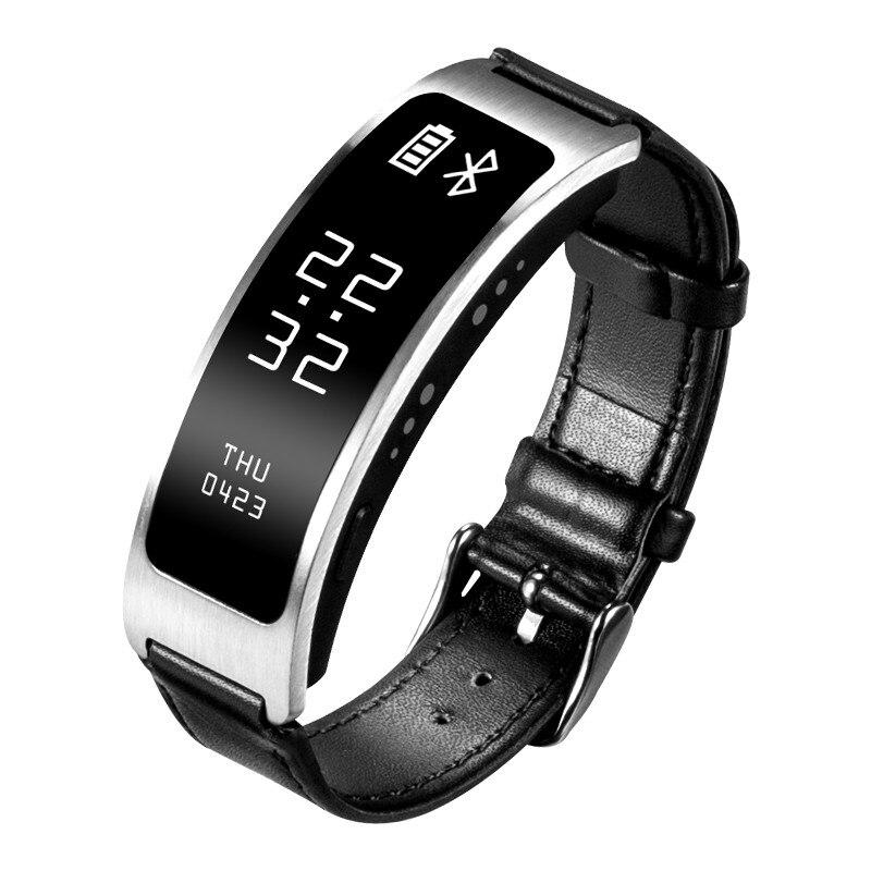 Smart Bracelet Talk Band Heart Rate Blood Pressure Oxygen Pedometer Bluetooth sm