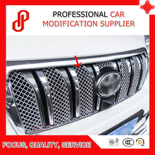 цена на 6 Pieces Stainless car front grille racing grills grill cover trim for Prado FJ150 2010 11 12 2013 14 2015 2018