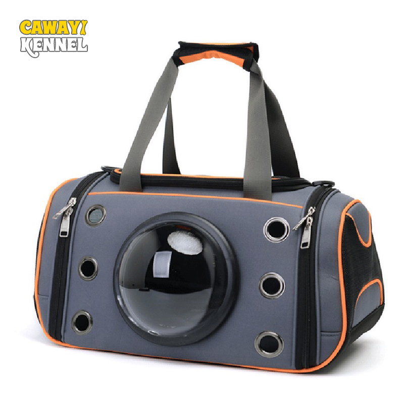 Hot Sale Candy Kennel Grey Oxford Breathable Pet Carriers Small Dog