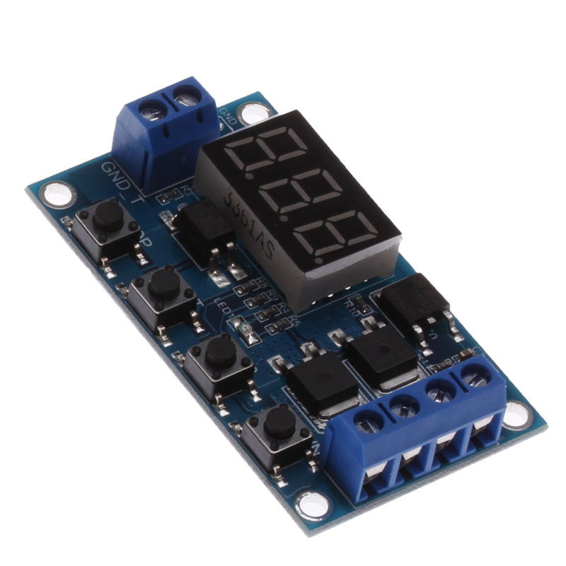 us $2 05 25% off trigger cycle timer delay switch circuit board mos tube control module 12 24v w312 in relays from home improvement on aliexpress com  4 axis usbcnc breakout board interface
