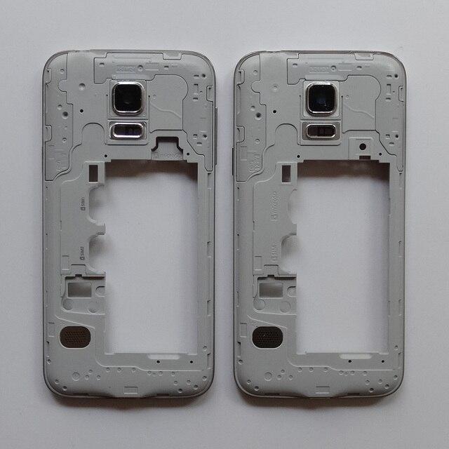 8adf9c110c0 Media original Marcos placa bisel + cubierta de la cámara para Samsung  Galaxy S5 mini g800f