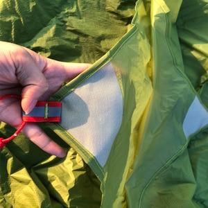 Image 3 - Flames信条超軽量タープ軽量ミニ太陽の避難所のキャンプマットテントフットプリント15Dナイロンシリコーン160グラムテンダパラカルロ