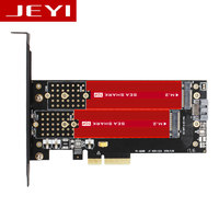 JEYI SK6 Plus M 2 NVMe SSD NGFF TO PCIE X4 Adapter M Key B Key