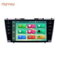 Harfey gps автомобиля радио для 2007 2008 2009 2010 2011 Toyota Camry 9 дюймов Android 8,0 сенсорный экран мультимедийный плеер Bluetooth WI FI