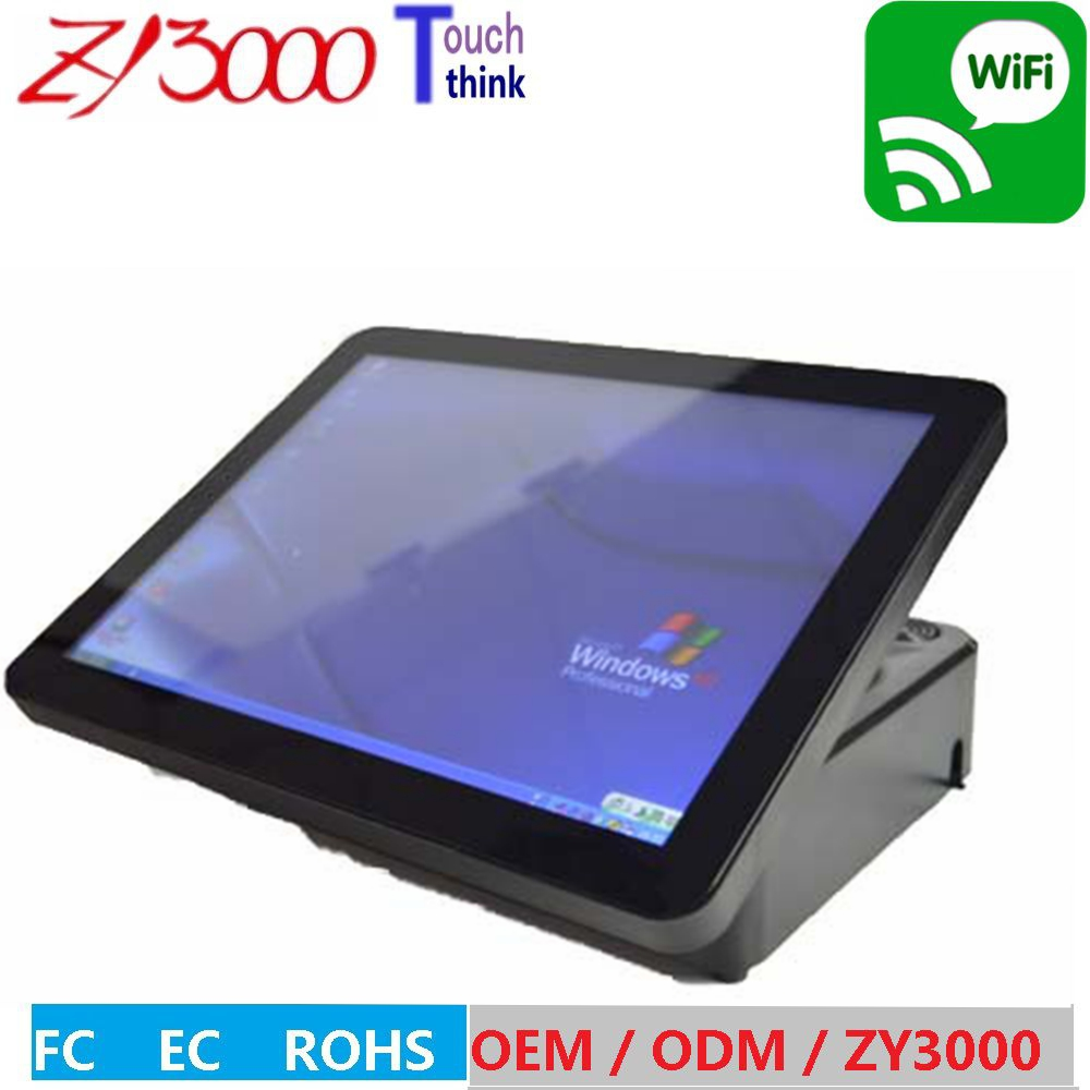 цена на NEW stock a4 black Factory Wholesale Super Quality Beautiful New Design Pos terminal With Stand And Adapter