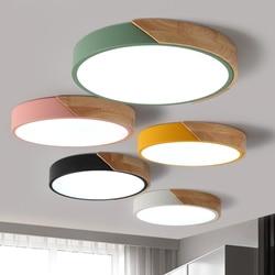 Ultracienkie oświetlenie sufitowe LED lampy sufitowe do żyrandole do salonu sufit do sali nowoczesne lampy sufitowe wysokie 5 cm w Oświetlenie sufitowe od Lampy i oświetlenie na