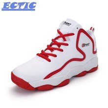 Newest Men Basketball Shoes 2017 ECTIC Male Ankle font b Boots b font Anti slip outdoor