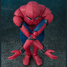человNEW hot 15cm Avengers Spiderman Super hero Spider-Man Homecoming Action figure toys doll collection Christmas gift with box jhacg 18cm spiderman venom the villain action figure toys doll christmas gift no box