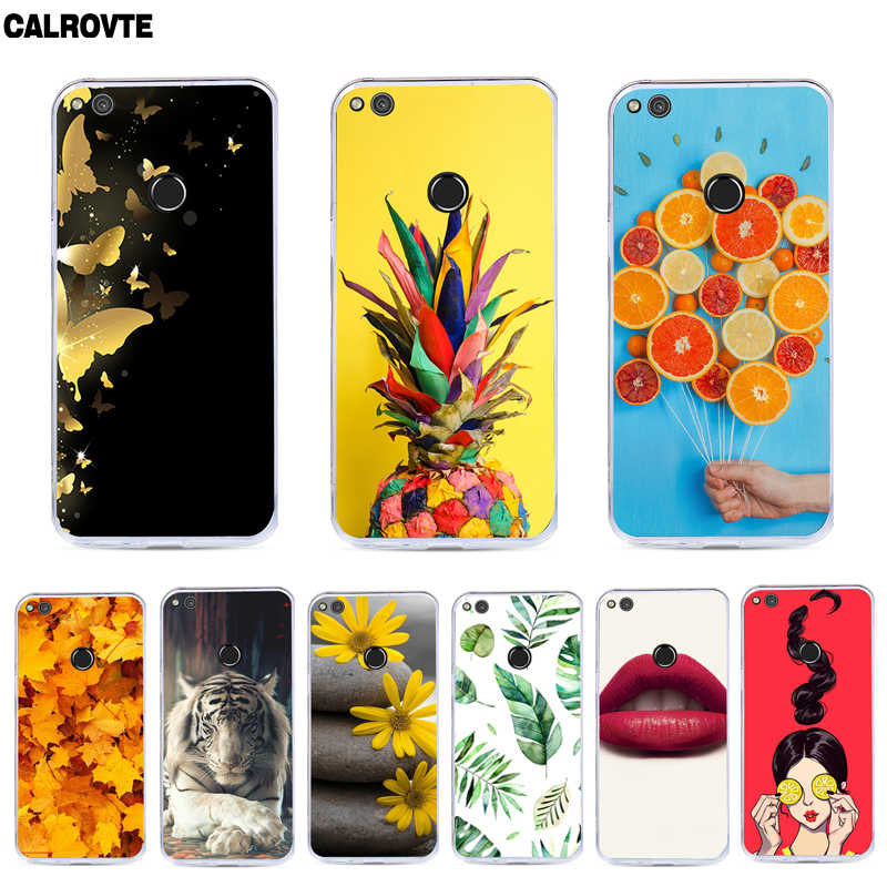 "For Huawei P8 Lite 2017/Honor 8 lite/P9 Lite 2017 Case 5.2"" Soft Silicone Phone Cases For Huawei P8 Lite 2017 Protective Bags"