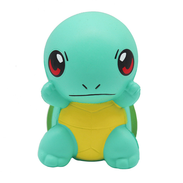 New Cute Green Turtle Doll Squishy Slow Rising Simulated Animal Soft Squeeze Toys Stress Relief Novelty Fun for Kid Gift ToyStress Relief Toy