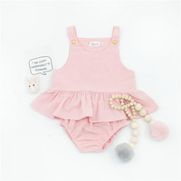 ZTKIDS Toddler Girl Summer Set Pink Color Cotton Baby Clothes Baby Girl Clothing Set Summer KIKIKIDS