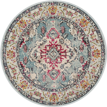 Persian Style Round Carpets For Living Room Bedroom Rugs And Carpets Classic Flower Area Rugs Decor Floor Study Coffee Table Mat