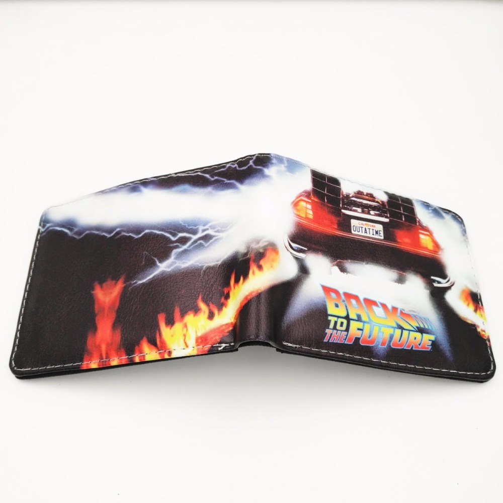 Movie Back To The Future short wallet W278 Movie Back To The Future short wallet W278
