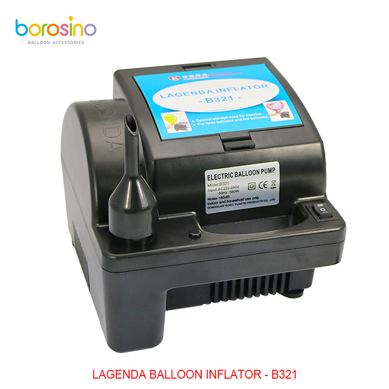 Wedding Decoration Foil and Latex Balloons Electric Air Inflator Balloon Pump Inflator 550W Machine B321