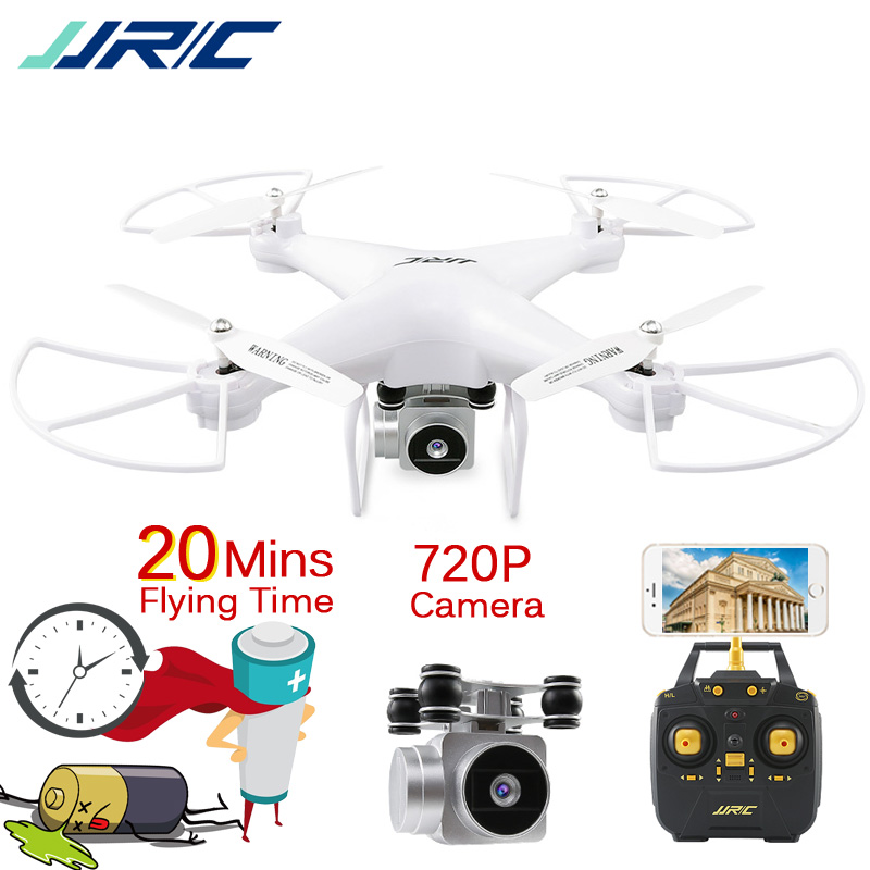 JJR/C JJRC H68 Drone avec Caméra HD 720 P le Maintien D'altitude Sans Tête Mode Extérieure RC Quadcopter Batterie D'origine 20 11mins Fly Temps