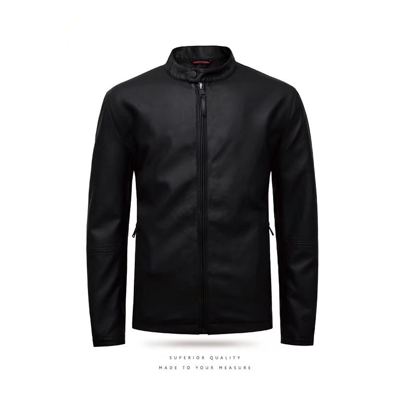 plus size new 2017 PU Leather Jacket Men Black Solid Mens Leather clothes Coats Trend Slim Fit Youth Motorcycle Suede Jacket
