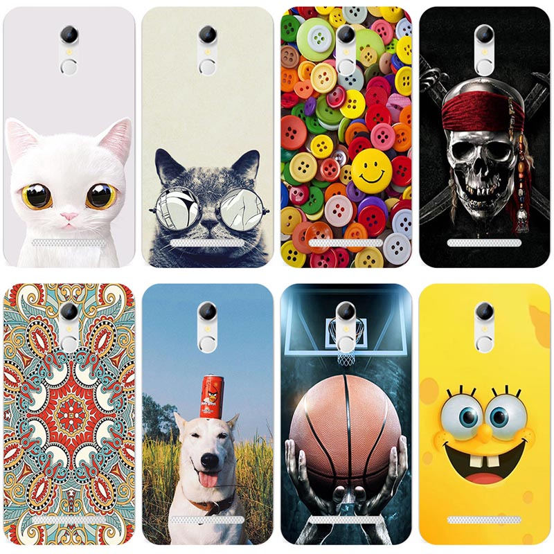 Lovely Fashion Painted Case For HOMTOM HT17 / HOMTOM HT17 Pro Case Cover Cute Art soft silicone printed fundas For HOMTOM HT 17(China)