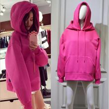 Autumn Winter Women Long Sleeve Pocket Embroidery Hooded Sweatershirt Fashion Embroidery Loose Pullover Clothing Tops