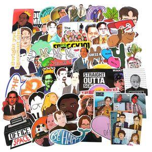 Image 1 - TD ZW autocollants Graffiti, étiquettes de séries TV américaine, pour ordinateur portable, les bagages, moto, décalcomanies en PVC, étanches, lot de 50 pièces