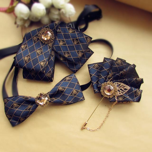 Novo Frete Grátis moda masculina toalha bolso do Terno DOS HOMENS vestido de casamento guardanapo de correspondência de alta-grade dual-purpose EMPATE conjunto broche