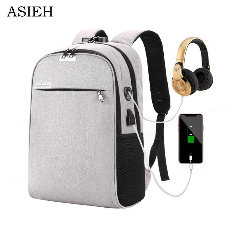 61afa105cc39 Detail Feedback Questions about fashion laptop backpacks College boy ...