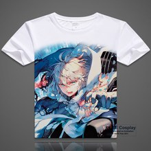 Seraph der ende T-shirts Phantasie Yuichiro Hyakuya Tops Krul Tepes Kurzarm Gedruckt Mikaela Hyakuya Tees