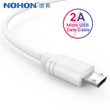 NOHON Fast Charging Micro USB Data Cable For Samsung S6 S7 Xiaomi 4 LG Huawei Android Phone Short Long Charger Cord 0.25M 2M